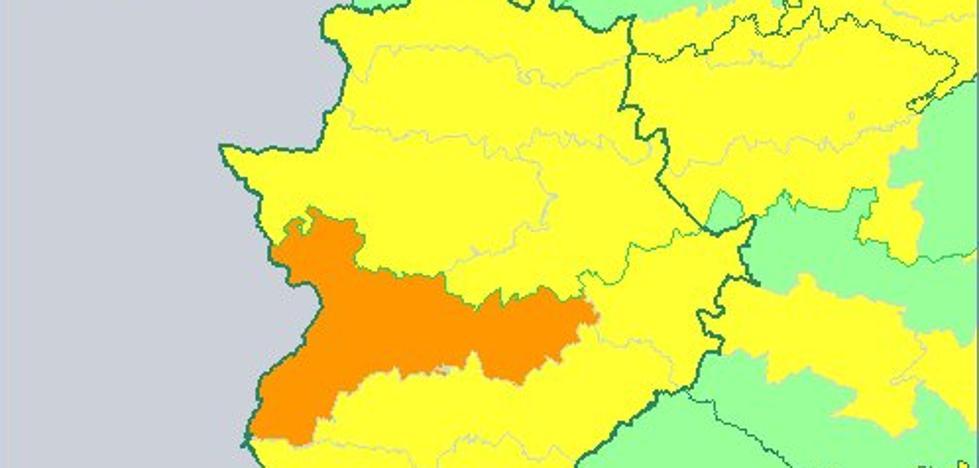 Toda Extremadura está hoy en alerta por calor