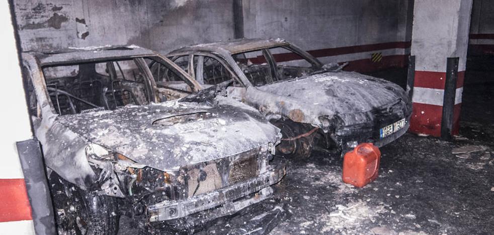 Los bomberos concluyen que el incendio del garaje comunitario fue intencionado