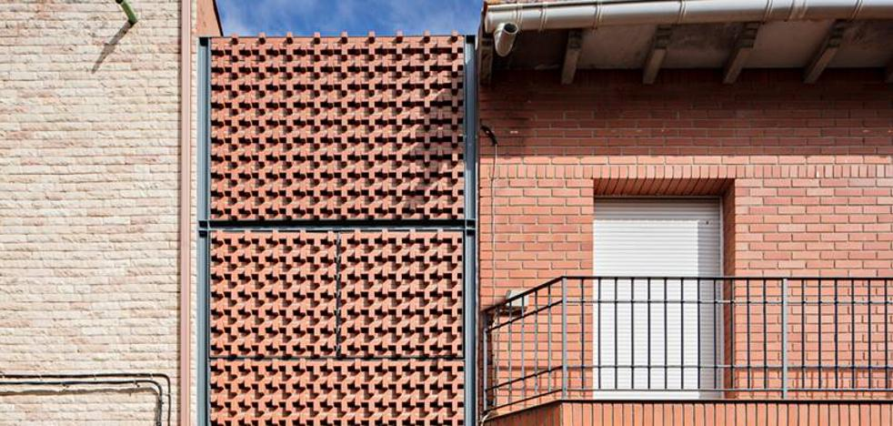 Una casa de un pueblo de Ciudad Real, entre las mejores del mundo construidas en ladrillo