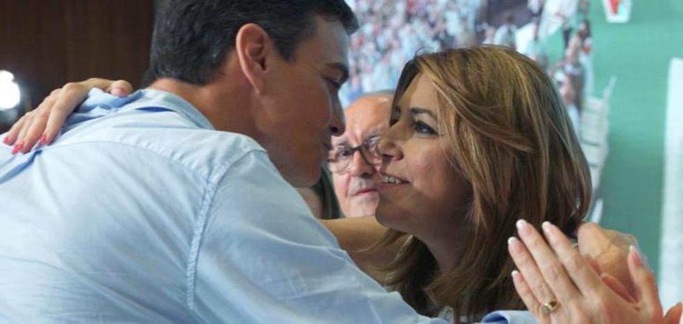 Pedro Sánchez y Susana Díaz mantienen el pulso