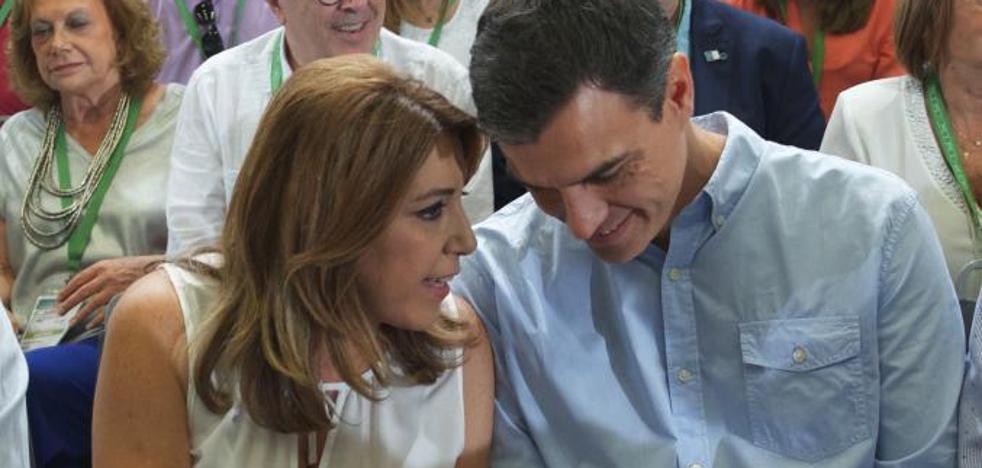 Susana Díaz mantiene su núcleo duro en la ejecutiva del PSOE andaluz