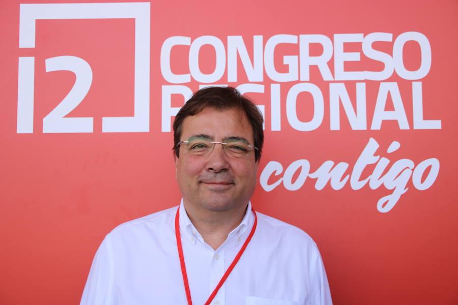 Los miembros de más peso de la nueva comisión ejecutiva del PSOE de Extremadura
