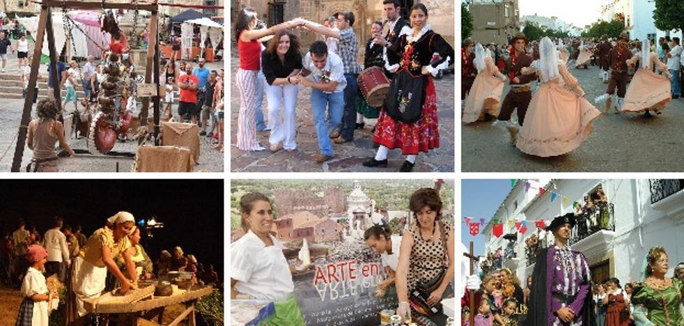 Extremadura vive un agosto de fiestas