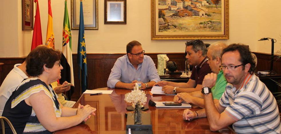 Osuna recibe a la nueva ejecutiva de Ciudadanos