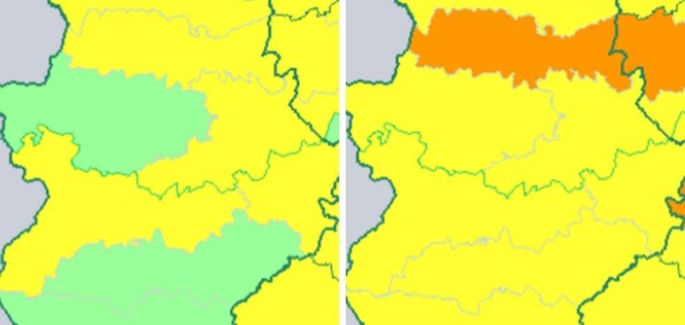 Vuelve la alerta por calor para hoy y el viernes en Extremadura