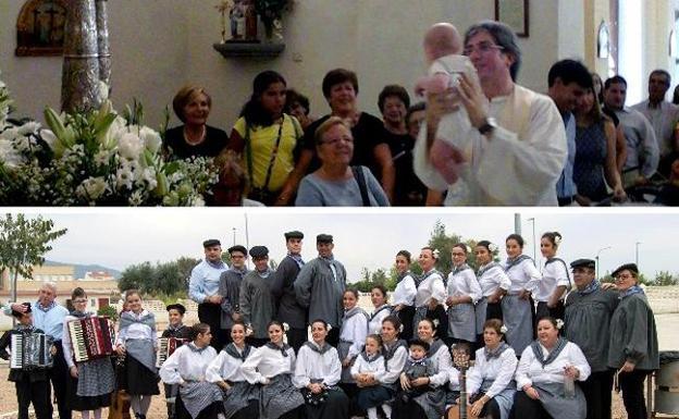 Hoy se presentan los niños a la virgen y mañana actuarán los grupois folclóricos desde las 22.30 horas