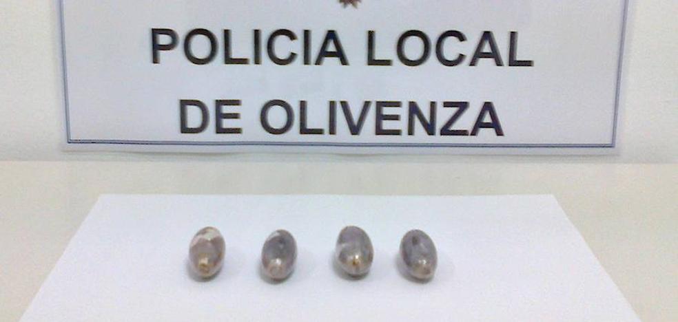 La Policía Local incauta 47 gramos de hachís en una intervención rutinaria