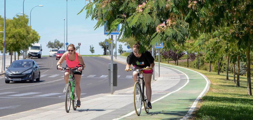 Usuarios del carril bici del Paseo Fluvial se quejan de falta de mantenimiento
