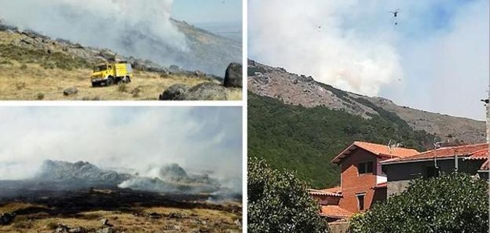 El Infoex da por controlado el incendio entre Acebo y San Martín de Trevejo