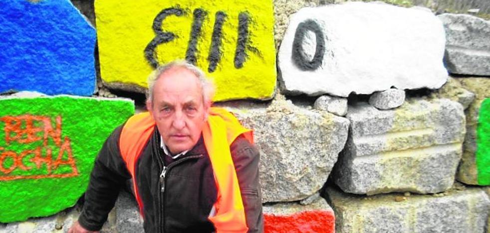 Un artista sin firma en la autovía de Trujillo