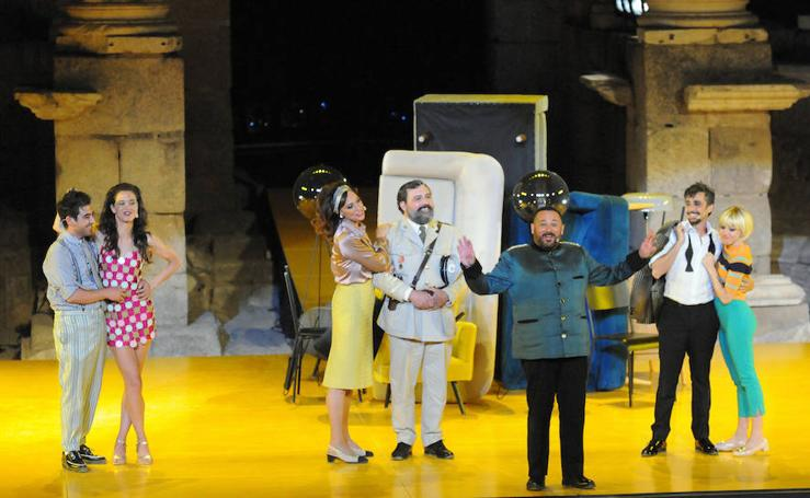 'La comedia de las mentiras' llena el Teatro Romano de Mérida