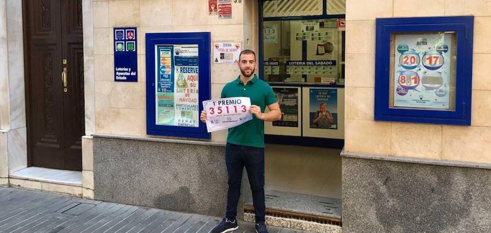 El primer premio de la Lotería Nacional deja en Badajoz 300.000 euros