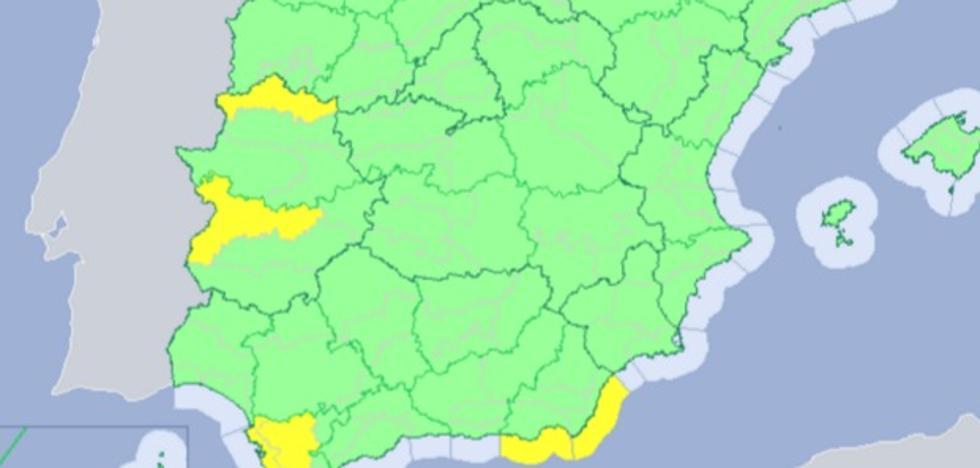 La alerta por calor vuelve este domingo en Extremadura