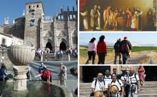 Podría haber más peregrinos en Extremadura que en Santiago, pero...