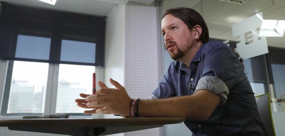 Pablo Iglesias acusa al PP de «mentir sin pudor» sobre Podemos