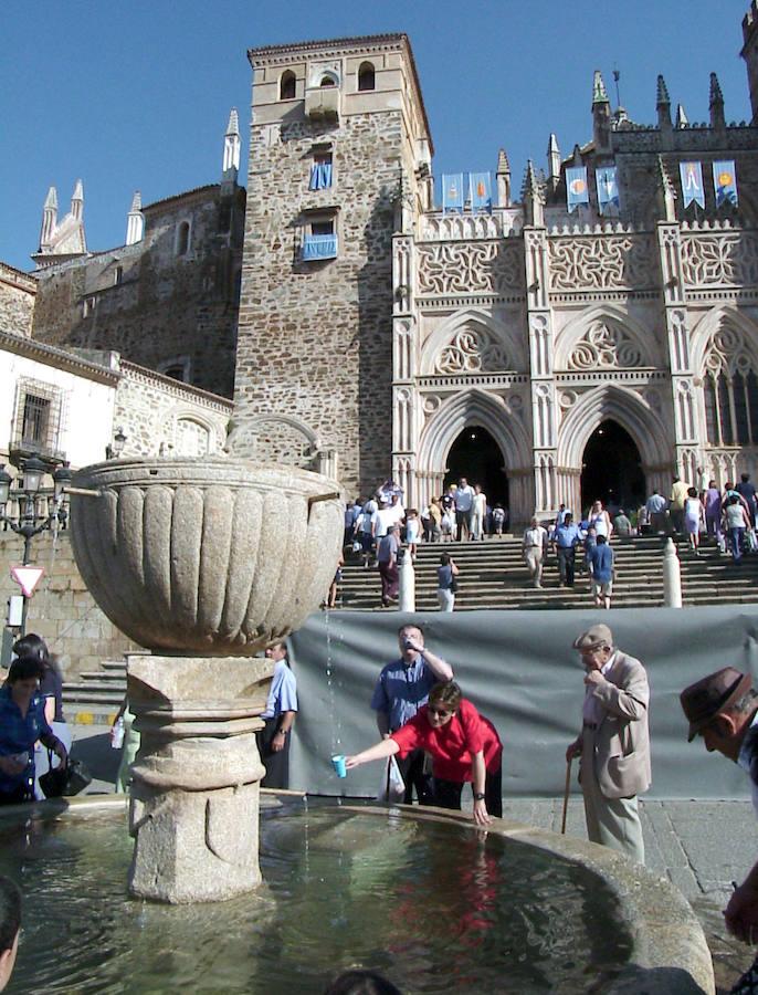 La peregrinación en Extremadura y en Galicia