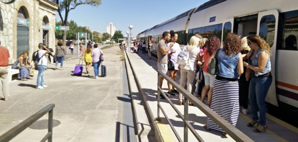 Tercera avería de un tren procedente de Madrid en menos de 24 horas