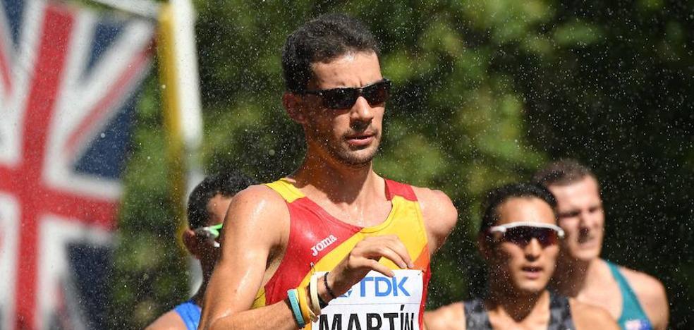 El extremeño Álvaro Martín, octavo en los 20 km marcha en Mundiales Atletismo