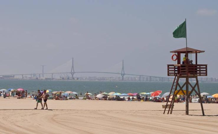 La playa de El Puerto de Santa María