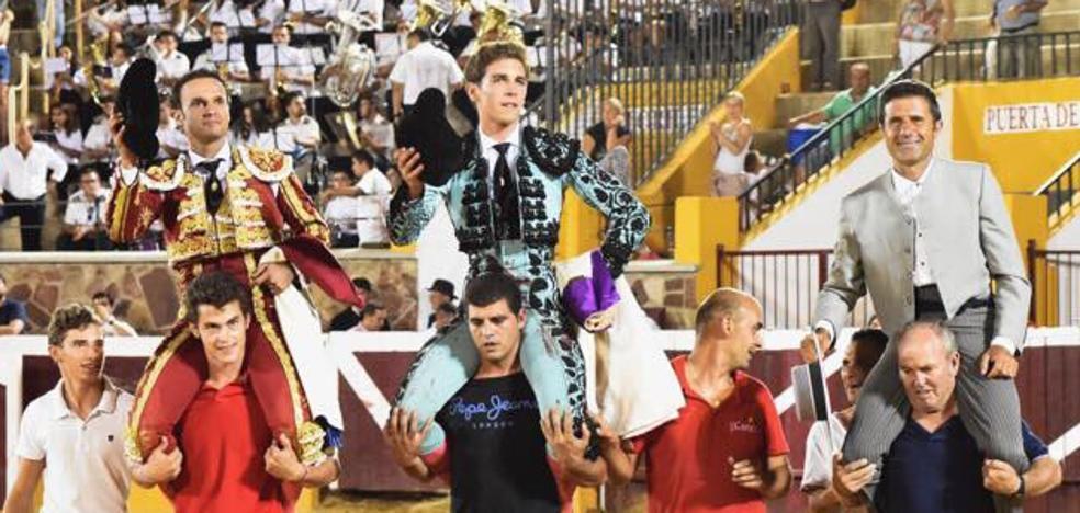 Antonio Ferrera indulta un toro de José Luis Iniesta en Herrera del Duque