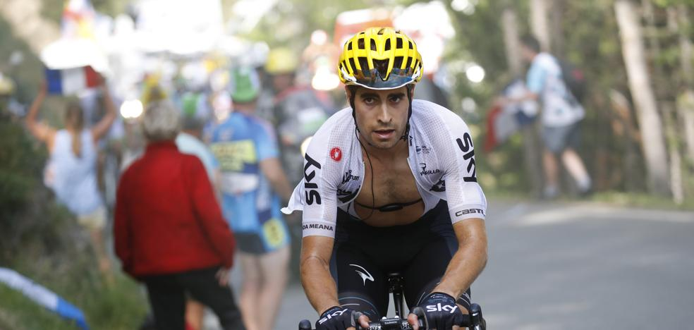 Mikel Landa ficha por Movistar Team