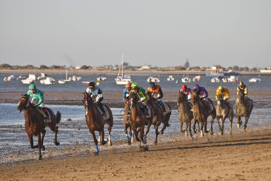Carrera de caballo y lugares emblemáticos de Sanlucar de Barrameda
