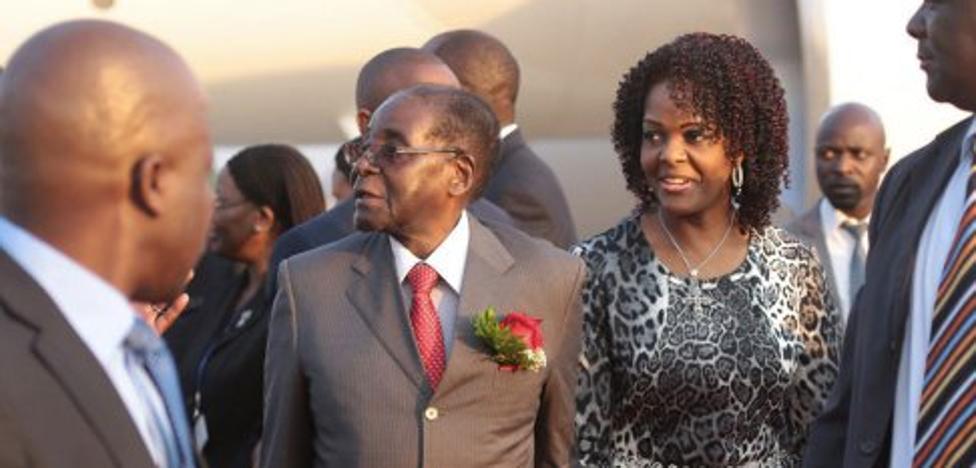 La Policía busca a Grace Mugabe