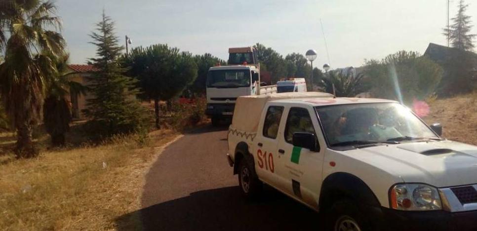 Extremadura envía medios técnicos y humanos de apoyo a los incendios de Castelo Blanco
