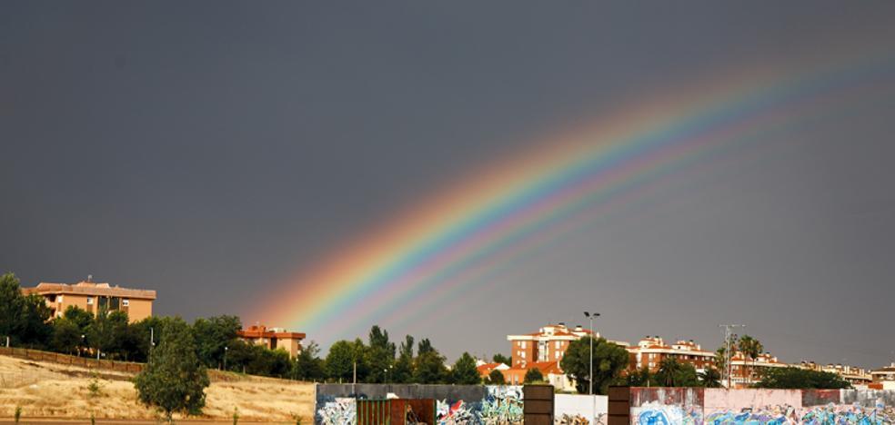 Un arcoiris de Mérida da la vuelta al mundo