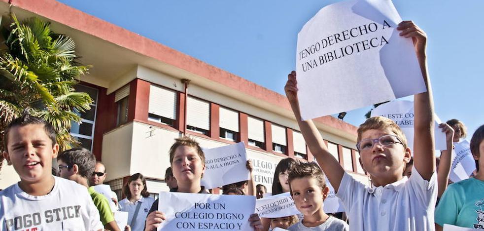 La ciudad necesita más de 20 millones de euros en infraestructuras educativas
