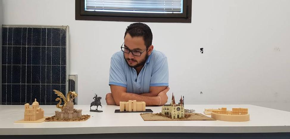 Un proyecto une historia, educación y tecnología con la impresión 3D en Trujillo