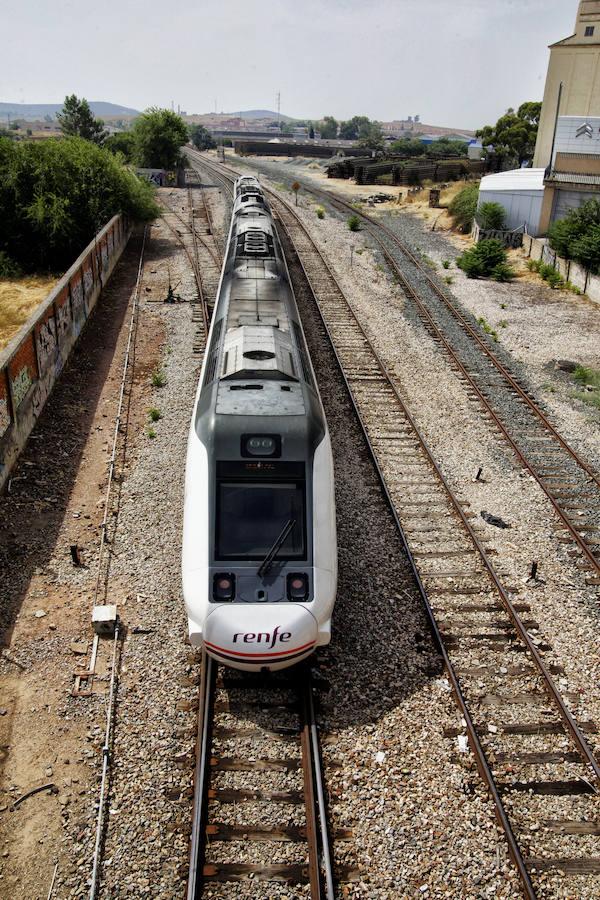 Convoyes extremeños y la estación de tren de Cáceres