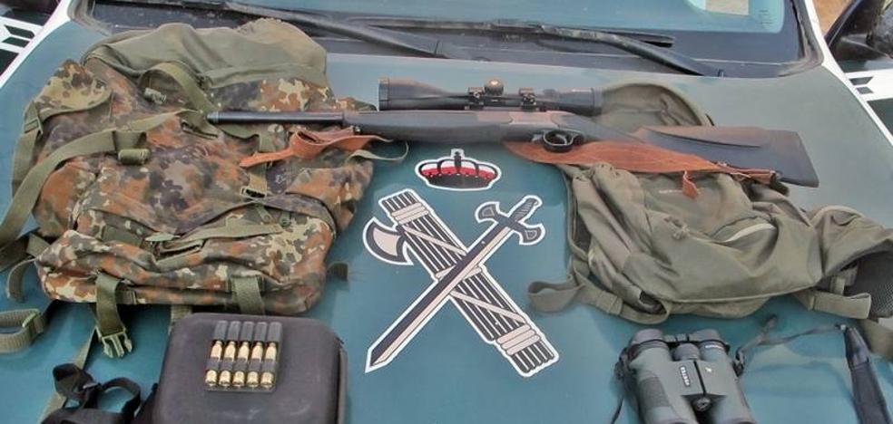 Tres investigados por cazar de forma furtiva en Llerena