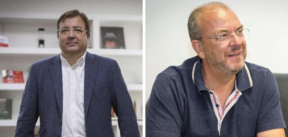 Dirigentes extremeños expresan su solidaridad con las víctimas de la tragedia