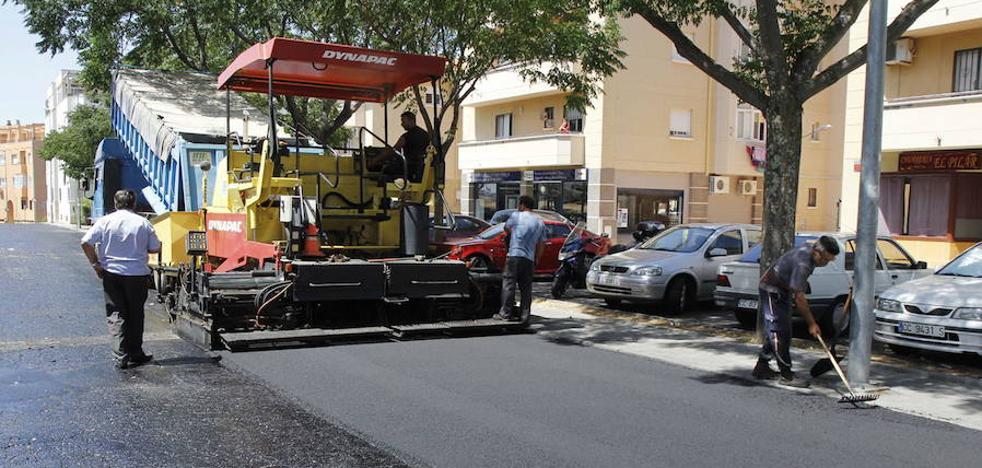 Plasencia retoma el plan de asfaltado con más de 320.000 euros