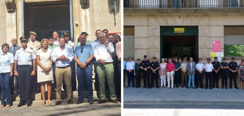 Minuto de silencio en las principales ciudades extremeñas por el atentado