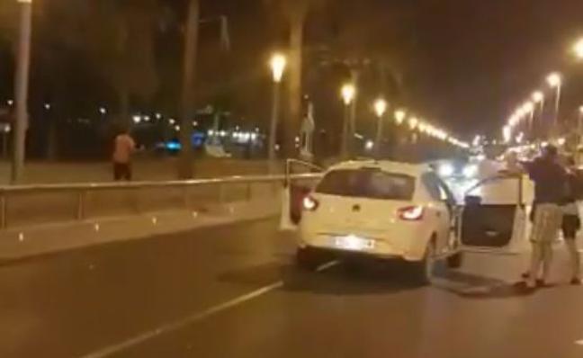 Un agente abatió a cuatro de los terroristas en Cambrils