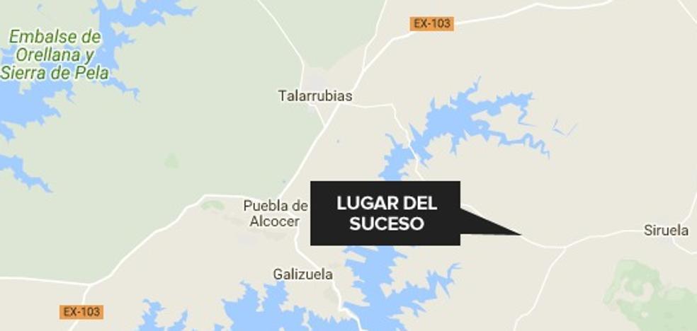 Heridos dos jóvenes de 22 y 23 años en una salida de vía en Siruela