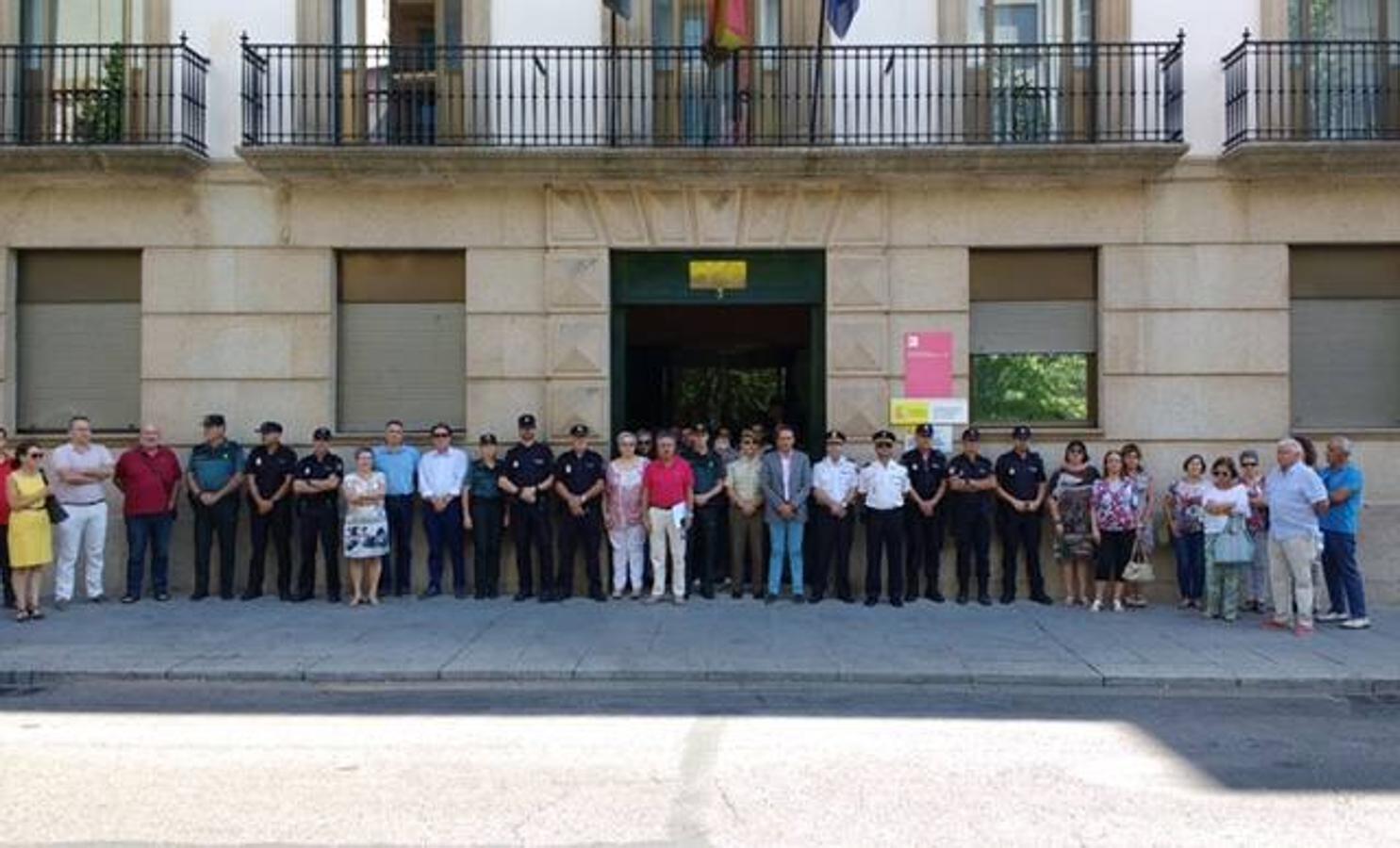 Minuto de silencio en Extremadura