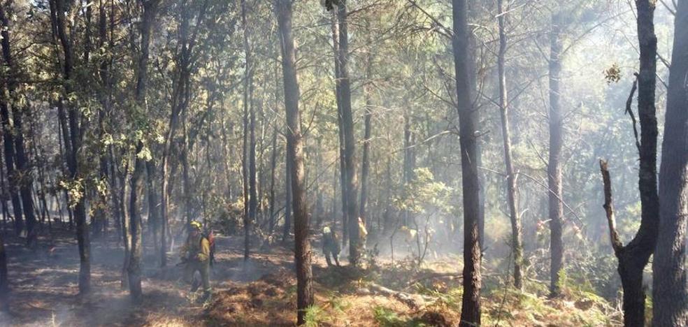 Extremadura resiste el golpe de los incendios este verano