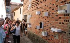 Las muestras de arte público 'Supertrama' podrán contemplarse en Valverde de la Vera hasta el 30 de septiembre