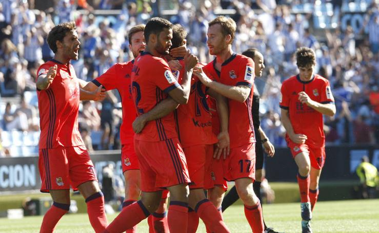 La victoria de la Real Sociedad, en imágenes