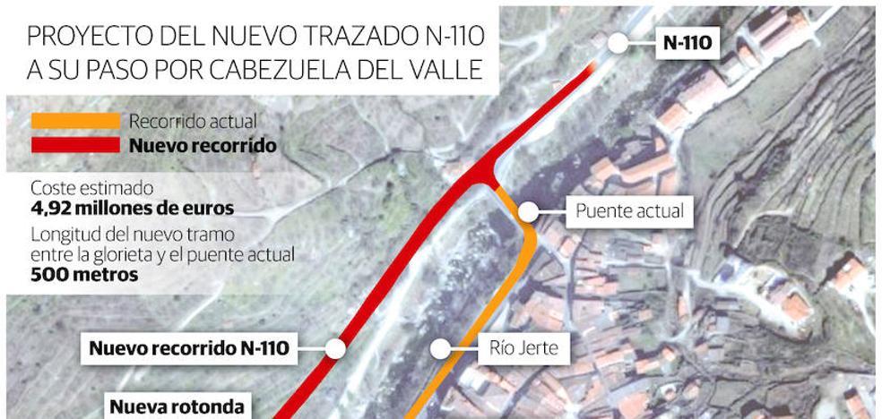 Una obra de 5 millones acabará con el 'embudo' de tráfico en el Jerte