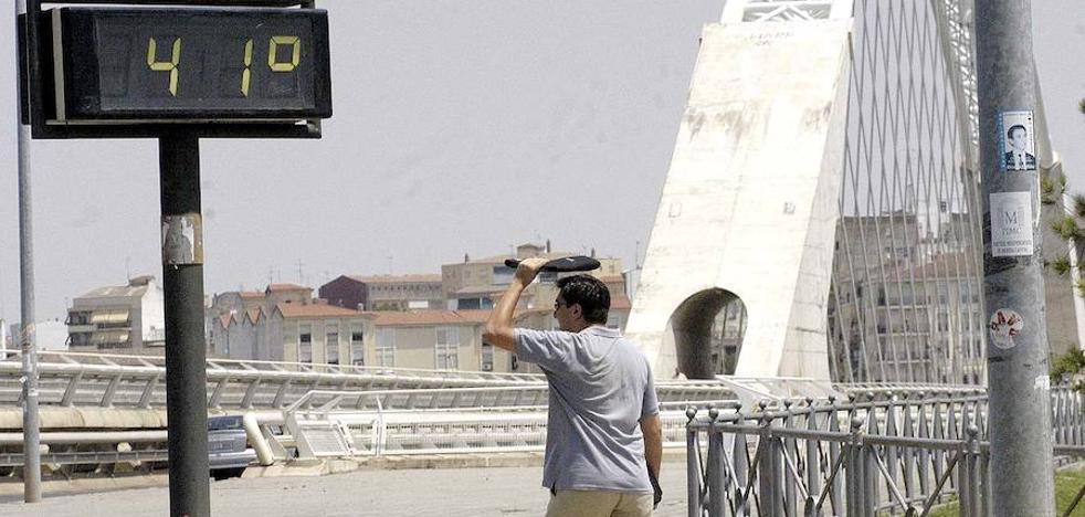 Mérida registra la temperatura más alta de España, 43 grados a las cinco de la tarde