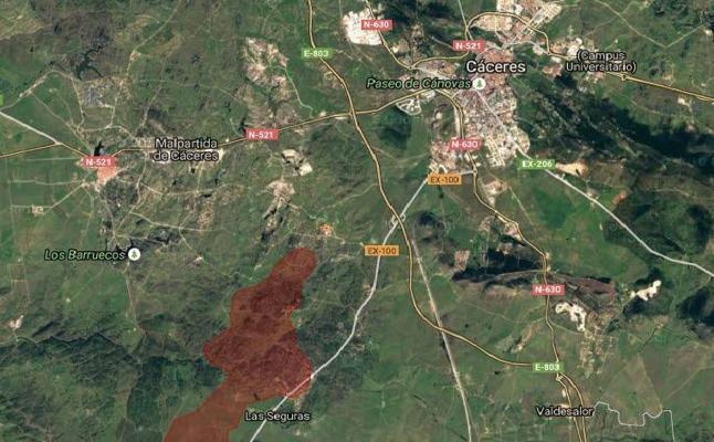 El gran incendio forestal de hace un año en Cáceres está valorado en medio millón