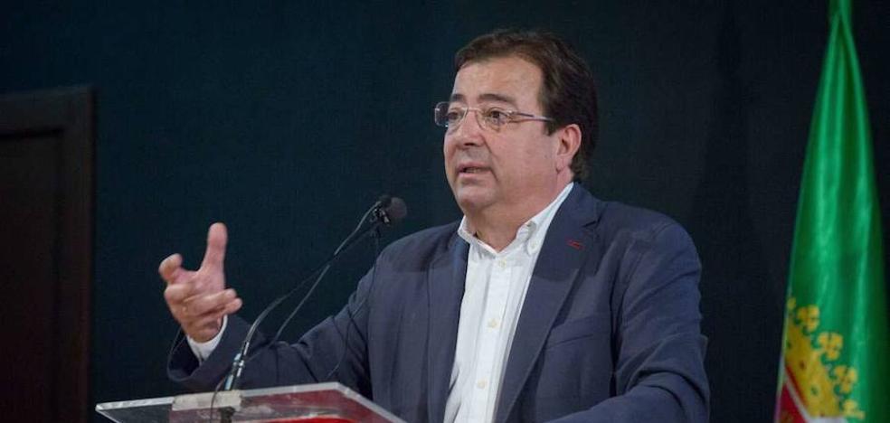 Fernández Vara apunta que la prevención de incendios puede generar riqueza y empleo