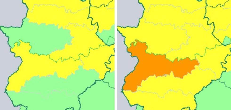La Aemet mantiene la alerta por calor en Extremadura hasta este miércoles