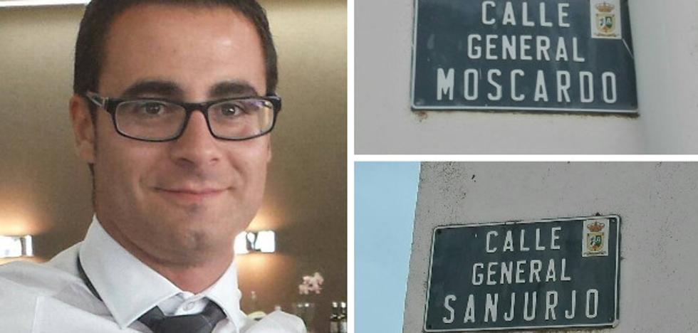 Los vecinos de Zarza Capilla cambian ocho calles con nombres franquistas