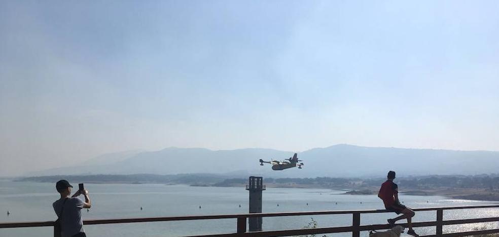 El incendio declarado en Cabezabellosa, ya estabilizado, ha sido intencionado, según el Infoex