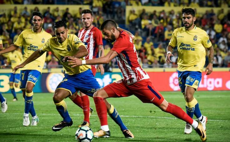 Las Palmas - Atlético, en imágenes